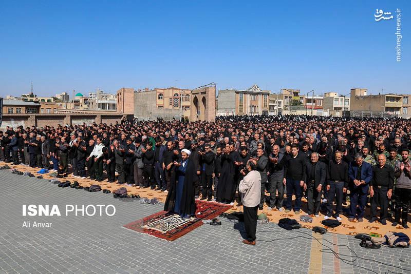 نماز ظهر عاشورا در اردبیل