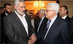 هنیه-محمود عباس