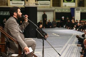 فیلم/ مداحی مطیعی در حضور رهبر انقلاب