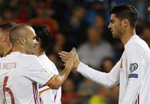 غایبان بزرگ اسپانیا در انتخابی جام جهانی
