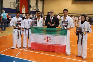 درخشش کاراته کاهای ایرانی در مسابقات بلگراد +عکس و فیلم