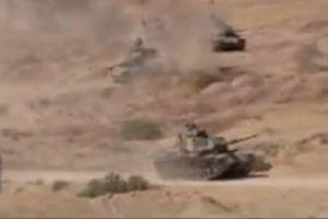 فیلم/ زمایش مشترک زمینی ایران و عراق