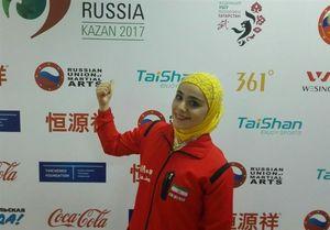 کیانی نخستین مدال ایران را کسب کرد