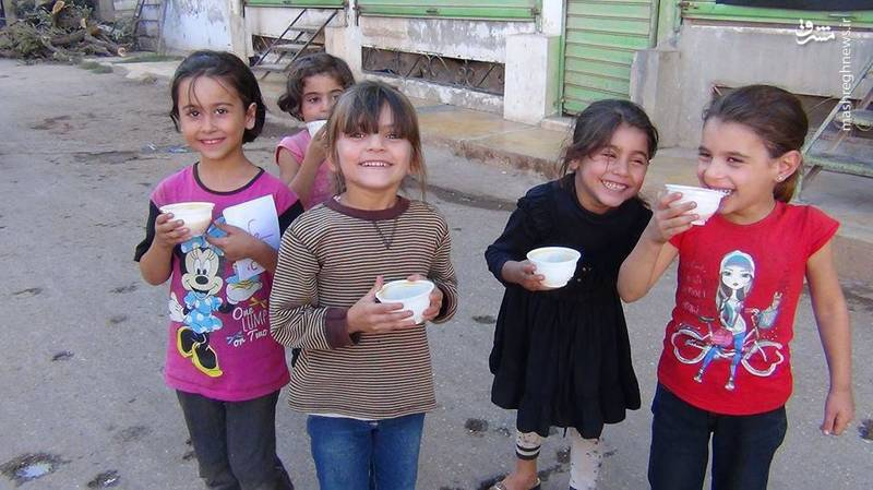 مراسم عاشورای حسینی در فوعه و کفریای سوریه/ اعلام الحربی