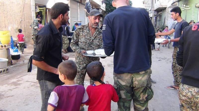 مراسم عاشورای حسینی در فوعه و کفریای سوریه