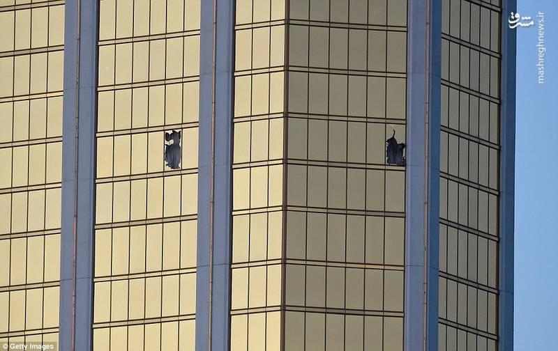 هتلی که ضارب از آن تیراندازی کرده است.