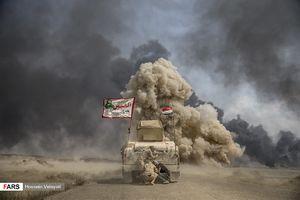 عکس/پیشروی نیروهای عراقی در عملیات الحویجه