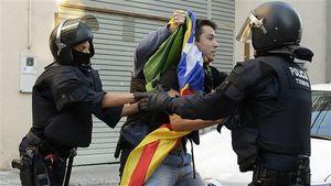 اسپانیا از کاتالونیا معذرت خواهی کرد