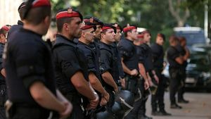 قطع همکاری باشگاه بارسلونا با پلیس کاتالونیا
