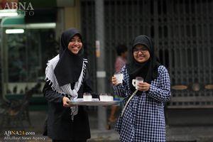 عکس/ پخش نذری امام حسین (ع) در تایلند