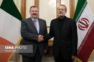 عکس/ دیدار رؤسای مجلس ایرلند و ایران