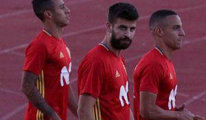 تهدید مردم مادرید به حضور پیکه در تیم ملی