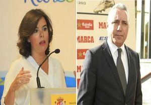 شکایت معاون نخست وزیر اسپانیا از اسطوره بارسلونا