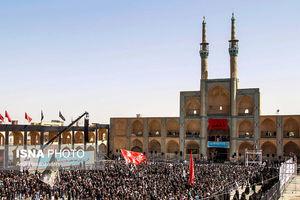 اجتماع بزرگ هیئت های مذهبی یزد در میدان امیرچخماق