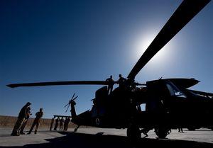 آموزش بالگردهای«بلک هاوک»آمریکا در افغانستان+ تصاویر