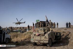 عکس/ پیشروی نیروهای عراقی در عملیات الحویجه