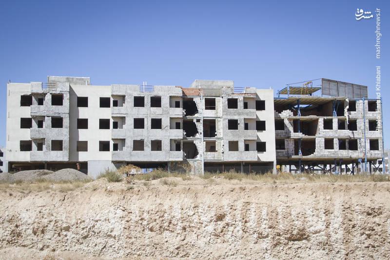 2070503 - «مسکن مهر»هایی که تکمیل نشده خراب میشوند