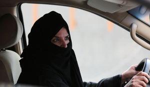 راننده زن سعودی