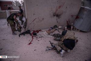 عکس/ ورود نیروهای حشدالشعبی عراق به شهر الحویجه