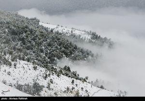 ارتفاعات ۴ استان کشور سفید پوش میشود