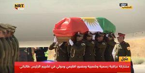 مراسم تشییع پیکر «جلال طالبانی»