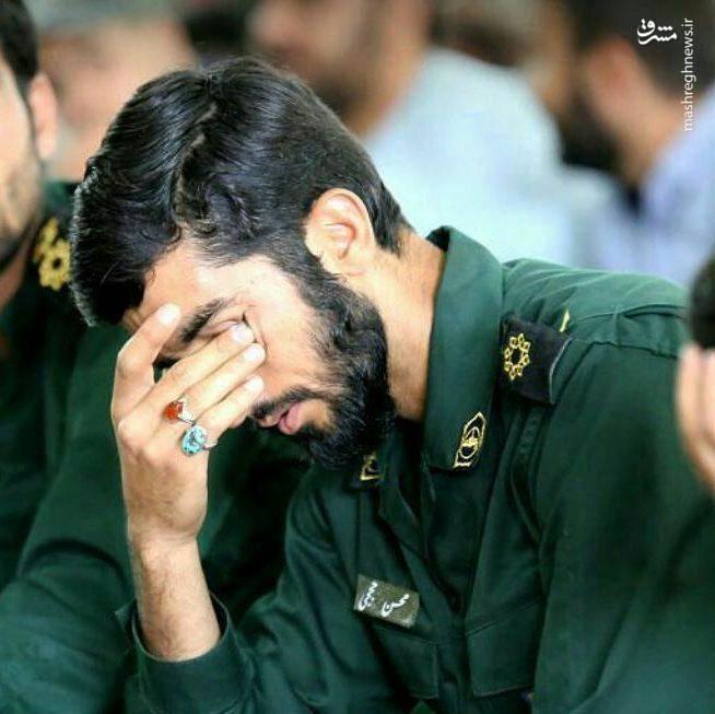 تصویر دیده نشده از شهید محسن حججی