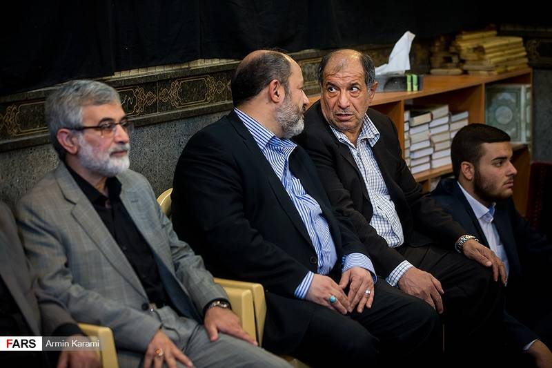 مراسم ترحیم مرحوم داوود احمدینژاد