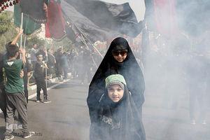 عکس/ راهپیمایی نمادین قافله کربلا در سعادت آباد