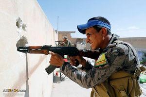 نبرد با داعش در شهر رقه سوریه