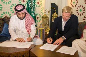 اسطوره ژرمنها با سعودیها قرارداد امضا کرد +عکس