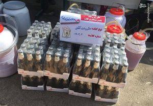 انهدام باند بزرگ تولید مشروبات الکلی در جنوب تهران +عکس