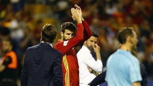 داستان پیکه با تیم ملی اسپانیا به پایان رسید