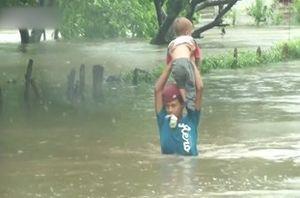 فیلم/ طوفان و سیل شدید در نیکاراگوئه
