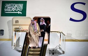 عکس/ پله برقی طلایی پادشاه عربستان