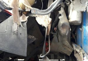انفجار در پمپ گاز موچش کامیاران