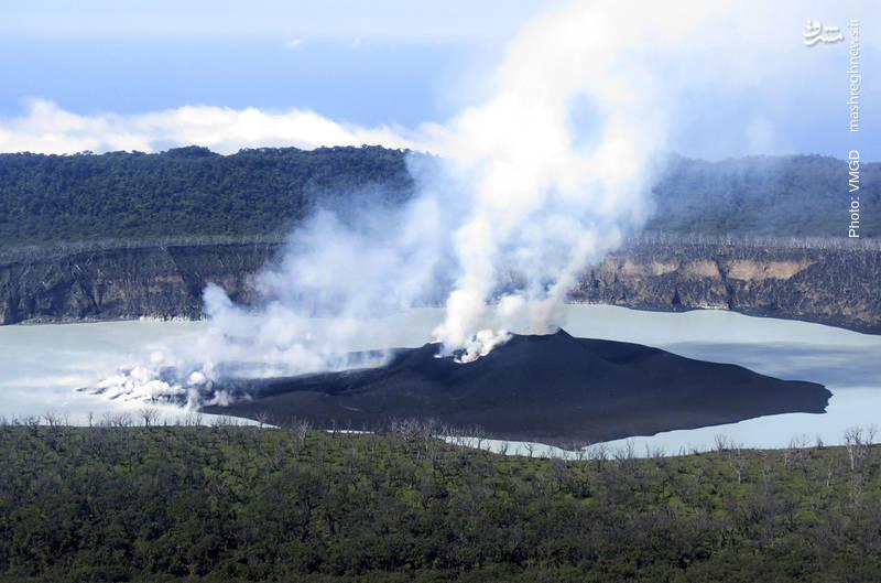 تخلیه کشور جزیرهای و کوچک وانواتو پس از ظهور نشانههایی از فعالیت آتشفشانی