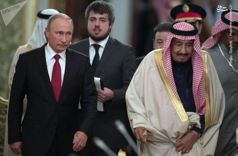 سفر ملک سلمان به مسکو و تلاش برای عقد قراردادهای تسلیحاتی