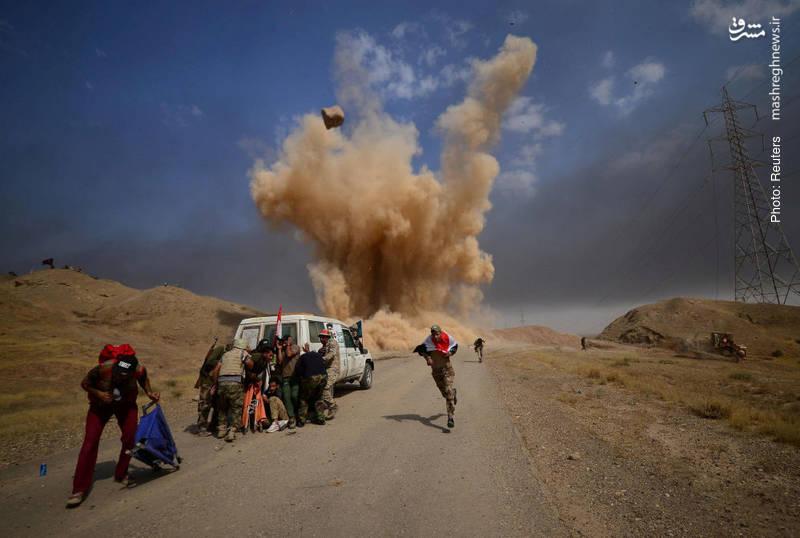نیروهای الحشد الشعبی در حویجه عراق