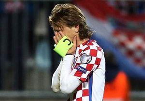 مودریچ: وضعیت تیمملی کرواسی فاجعه است