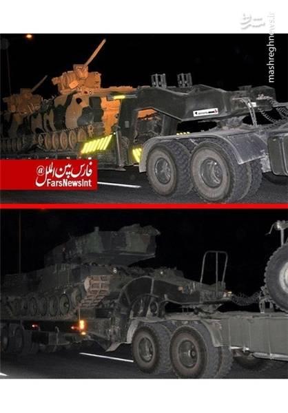 نتیجه تصویری برای استقرار یگان های زرهی و تکاوران ترکیه در مرز با سوریه+عکس