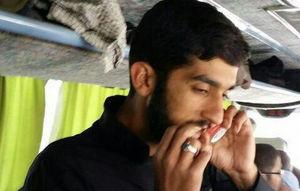 تصویر دیده نشده از شهید حججی در راهیان نور