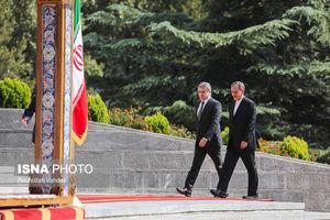 استقبال رسمی از نخستوزیر ارمنستان
