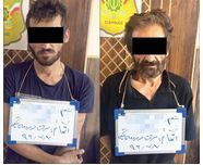 عاملان دستبرد به خودروهای سنگین دستگیر شدند
