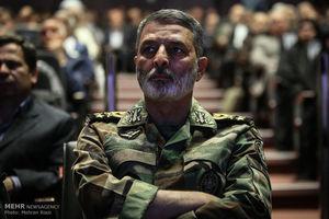 فرمانده کل ارتش از قدردانی وزیر بهداشت تشکر کرد