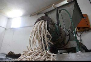 عکس/ مراحل آماده سازی صابون سنتی بروجرد