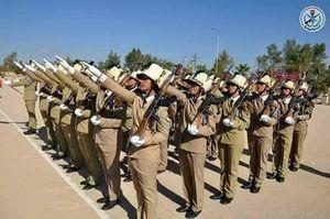 عکس/ مراسم فارغ التحصیلی افسران زنِ سوری