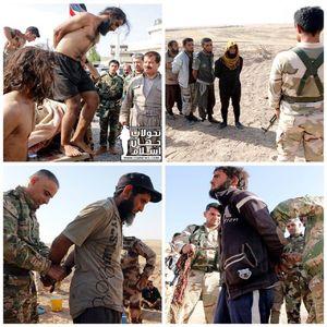 عکس/ هزار داعشی پناهنده کُردها شدند