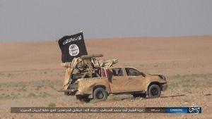 تصاویر داعش از نبردهای قریتین
