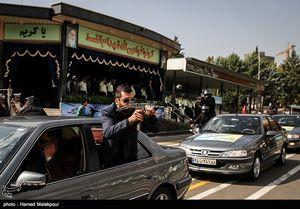 عکس/ مانور بادیگاردهای نیروی انتظامی