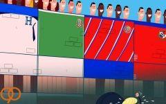 کاریکاتور/ترامپ و کشورش پشت دیوار جام جهانی روسیه ماندند